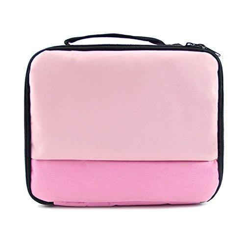 Vococal Universal Tragbare Reise Carry Storage Protector Tasche Schutz Handtasche Fall für Canon Selphy CP1200 CP910 HITI Prinhome P310W Foto Drucker - Drucker-fall Tragbare