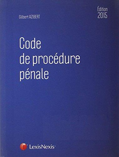 Code de procdure pnale 2015
