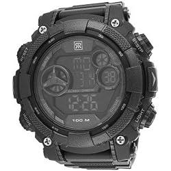 r-fight-homme-automatique-bracelet Other Materials silicone-noir