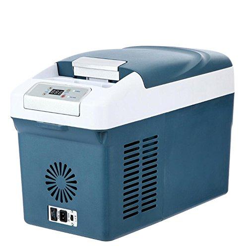 Youandmi 15l 12v 24v 220v mini frigo auto con compressore - piccolo frigorifero portatile con controllo digitale per camper camping ufficio casa