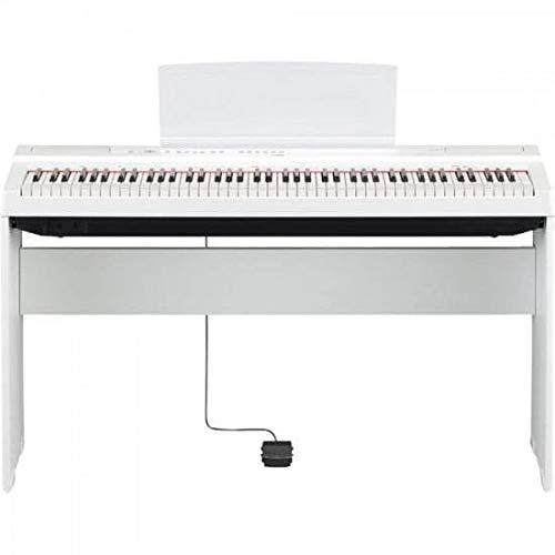 Yamaha L-125WH Stand per pianoforte digitale, Bianco