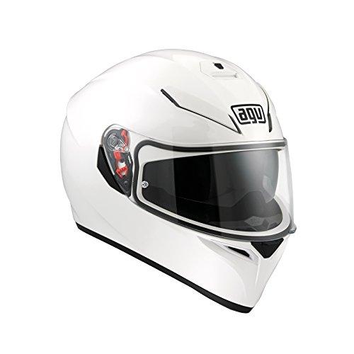 AGV 0301A4EY_001_L K-3 SV E2205 Helm SOLID PLK, Weiß, Größe L