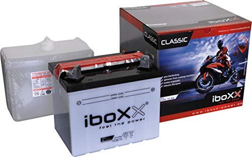 CL52440, U1R-9, Blei-Säurebatterie Original von Iboxx inkl. Säurepack, LxBxH: 196x130x184mm, Gartenmaschinen, Rasentraktor, Aufsitzmäher