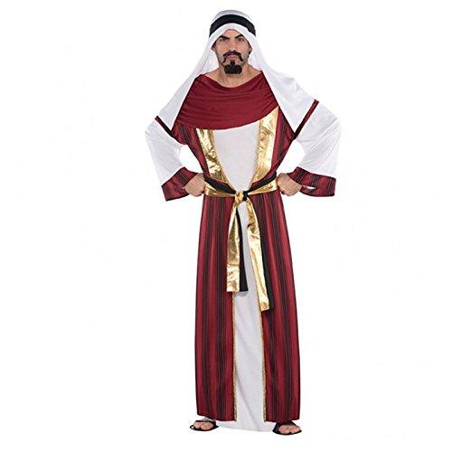 Amscan International Adults Sahara Prince Costume by Amscan International (Arabian Nights Party Kostüme)