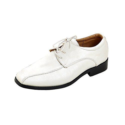 Kinderschuhe festliche Schuhe Kommunionsschuhe Komfirmationsschuhe Roche weiss Gr.27 (Smoking-schuhe Weiße)