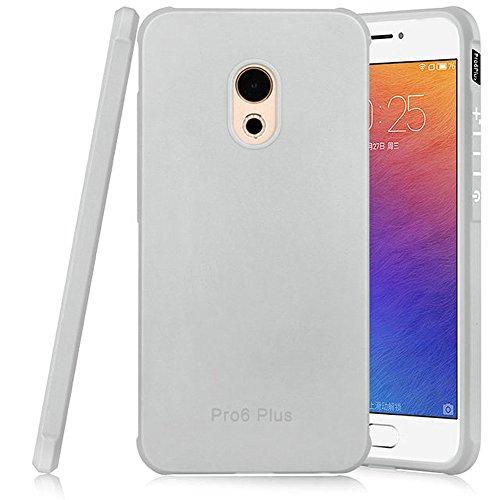 Hevaka Blade Meizu Pro 6 Plus Hülle - Weiche Silikon TPU SchutzHülle Tasche Case Cover für Meizu Pro 6 Plus - Gris