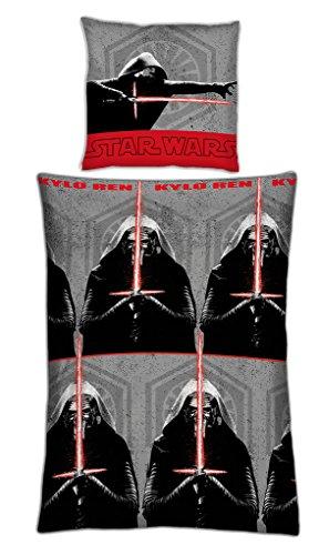 100/% Baumwolle STAR WARS BB8 Bettwäsche 140 x 200 63 x 63 cm Weiß
