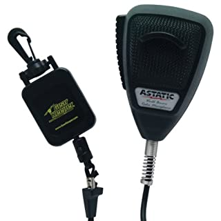 Astatic 302-10162 Noise Canceling 4-Pin CB Microphone with GearKeeper