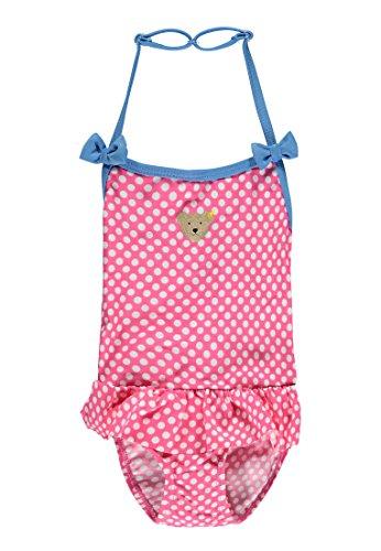 Steiff Baby-Mädchen Einteiler Badeanzug, Rosa (Carmine Rose 2290), 80