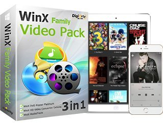 WinX Video Family Pack - Offizieller Partner von DIGIARTY (Zum Download - keine CD / DVD)