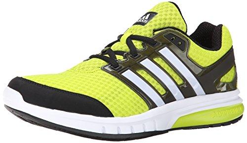 Adidas da uomo Galaxy Elite M Scarpe da corsa Semi Solar Yellow/White/Core Black