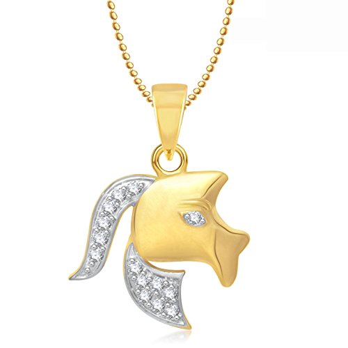 Valentine Gifts Amaal Zodiac Power Pendant Aries Astrology Pendant With Chain PS0279