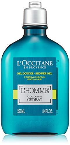 Die Occitane-Duschgel Körper & Haar 'Homme Cologne Cédrat-250ml