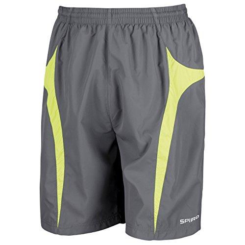 Spiro, micro lite team-Pantaloncini Grey/ Aqua