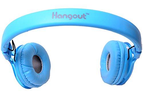 Hangout Elegance Stereo Headset HO-63-Blue