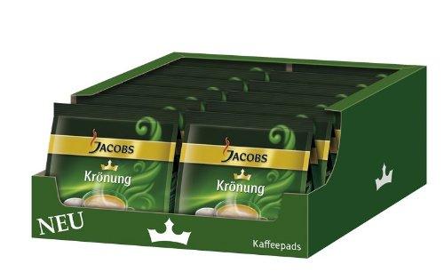Jacobs Krönung Crema Kaffeepads, 12er Pack (12x 105 g, 192 Portionen)