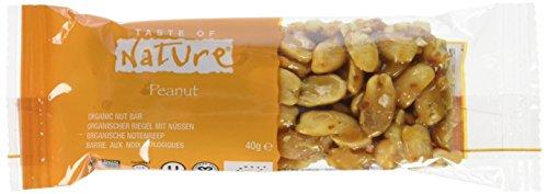 Taste of Nature Müsliriegel Argentina Peanut Plains, 4er Pack (4 x 40 g) - Bio