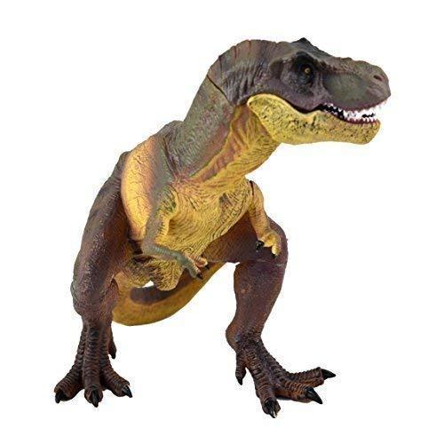 Dinosauro T-Rex Tyrannosau Rus 13'' 33cm RIGIDA PLASTICA GIOCATTOLO MUSEO REALISTICA DETTAGLI