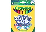 Crayola 58-8328 - I Lavabilissimi 8 Rotuladores, Punta Maxi