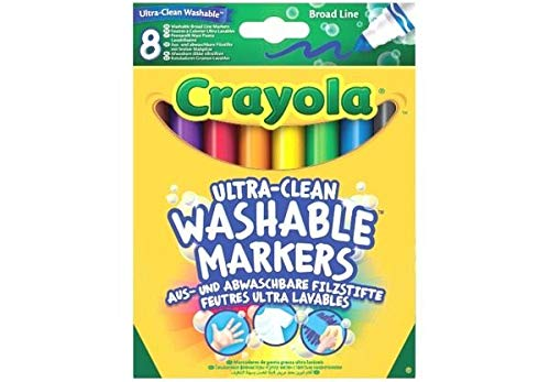 Crayola 8-Ultra reinigen waschbar Breiten Marker -