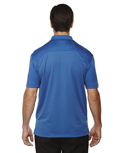 Ash City Symmetrie Herren UTK cool-logik Kaffee Performance Polo Shirt NAUTICL BLUE 413