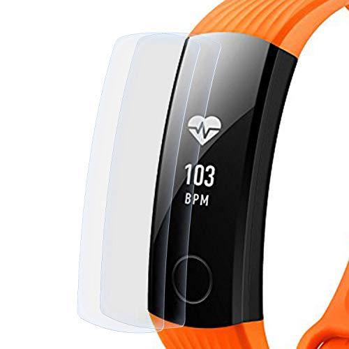 zanasta 2 Stück Schutzfolie kompatibel mit Huawei Honor Band 3 Bildschirmschutzfolie Nano Schutz Folie | Volle Abdeckung, Klar Transparent