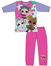 Dolls Pijama para niñas Soft Cotton PJs Pijamas Confetti Pop Pjs Lil Sisters