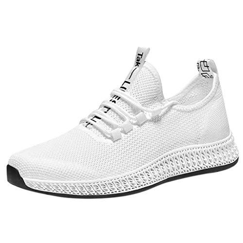 SuperSU-Sneaker►▷Sommer Lässiges Laufschuhe Für Männer Sportschuhe Mesh Weich Sole Atmungsaktive Leichte Turnschuhe Bequeme Herren Sneakers rutschfeste Studenten Tennisschuhe