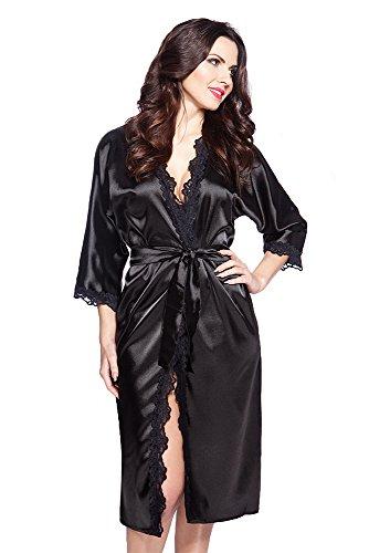 VA-Fashion - Vestaglia -  donna VA33Schwarz