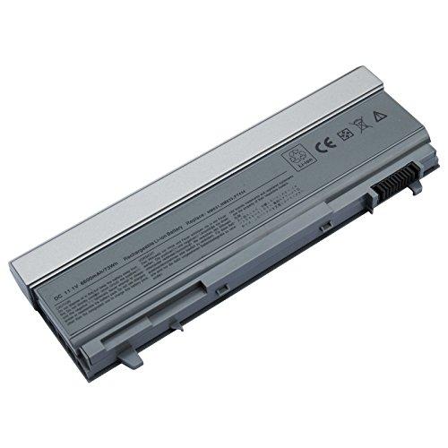 Laptop-Akku Dell 6400(H) 11.1 6600mAh/73Wh kompatibel mit Dell Latitude E6400 | E6400 XFR | E6400ATG | E6410 | E6410 ATG | E6500 | E6510 Precision M2400 | M4400 | M4500 und part number 312-0749 | 4N369 | FU268 | FU274 | FU571 | KY265 | KY266 | KY268 | KY477 | MN632 | MP303 | MP307 | NM631 | NM633 | PT434 | PT435 | PT436 | PT437 | T434