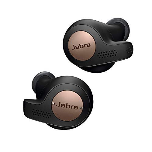 Jabra Elite Active 65t True Wireless Bluetooth Spots Earbuds and Charging Case with Alexa Built In, Copper Black - Exclusive to Amazon