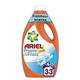 ARIEL Simply Fraicheur Intense Lessive Liquide 1,815 L 33Lavages - Lot de 2