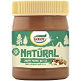 Goody Natural Creamy Peanut Butter, 340 g - Pack of 1