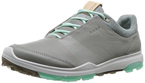 ECCO Damen Women Golf Biom Hybrid 3 Golfschuhe, Grau (Wild Dove/Emerald 50952), 39 EU