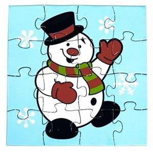 Weihnachten Puzzle (Pinguin Jigsaw Puzzle)