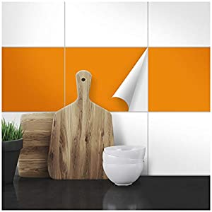 Wandkings Fliesenaufkleber - 25 x 30 cm, 20 Stück für Fliesen in Badezimmer, Küche & mehr