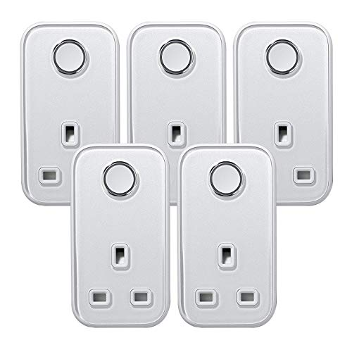 Hive Active Smart Plug , Silver - 5 Pack