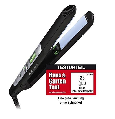 Braun Satin Hair 7 ST710 ES2 Haarglätter / Glätteisen (IONTEC Technologie für...