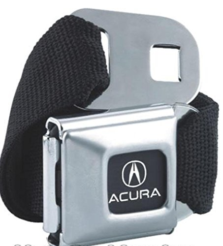 buckle-down-american-made-acura-car-logo-seatbelt-belt-bucklewith-canvas-webbing-black-one-size