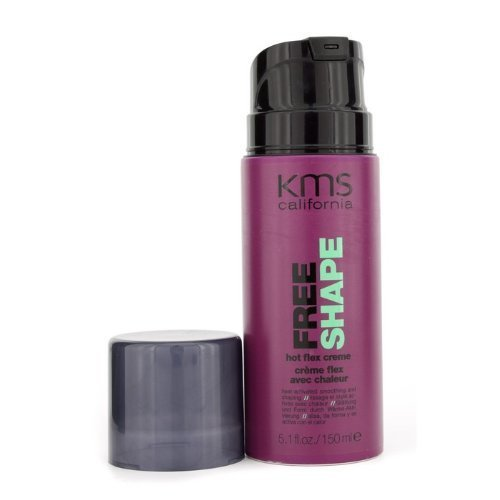 Free Shape Hot Flex Creme (Heat-Activated Smoothing & Shaping) - KMS California - Free Shape - 150ml/5.1oz by KMS California