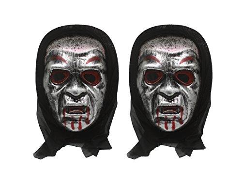 OTOFY Horror Ghost Haunted Maske Halloween Kostüm Stütze geeignet für Erwachsene und Kinder (Kostüme Haunted)