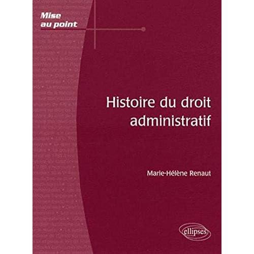 Histoire Du Droit Administratif
