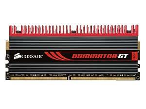 Corsair CMT32GX3M4X1866C9 Dominator GT 32GB (4x8GB) DDR3 1866 Mhz CL9 Mémoire pour ordinateur de bureau destinée aux passionnés