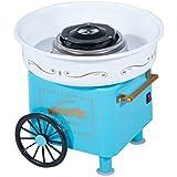 Machine à barbe à papa sucre ou bonbon ventouse anditérapante puissance 450W bleu neuf 18BU