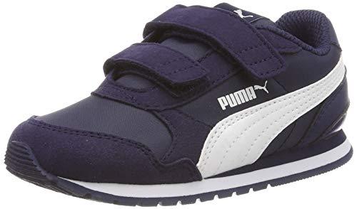 outlet store sale be223 feec0 Puma St Runner v2 NL V Inf, Sneakers Basses Mixte Enfant, Bleu (Peacoat
