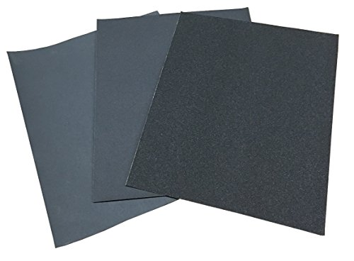 Preisvergleich Produktbild Schleifpapier wasserfest P60-P1200 Nass/Trocken 230x280mm Handschleifpapier (5x P60)