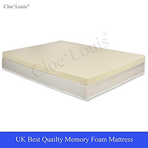 Orthopedic BodyMould Memory Foam Mattress Toppers - All Sizes & Depths (2
