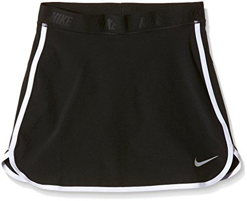 Nike girl 's schlupfslip schwarz - Black/White/Metallic Silver