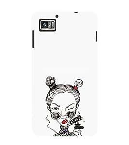 EPICCASE Sassy girl Mobile Back Case Cover For Lenovo K860 (Designer Case)