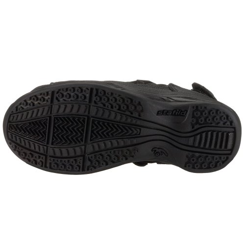 Chung Shi AuBioRiG Comfort Step Sandale 9100095 Damen Outdoor Sandalen Schwarz (Black)